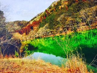 風景  季節  自然  山  静寂の写真・画像素材[374527]