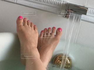 のんびり入浴中の写真・画像素材[759440]