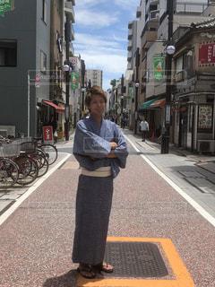 街を歩いている人の写真・画像素材[1291533]
