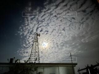夜の空の写真・画像素材[4748353]