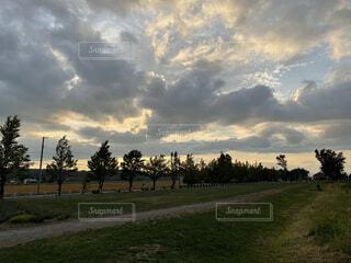 空の雲の群の写真・画像素材[4800628]