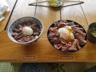 阿蘇 赤牛丼の写真・画像素材[4761695]