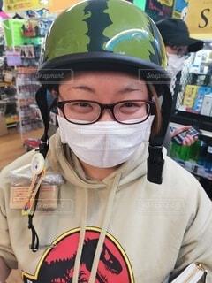 スイカのヘルメットの写真・画像素材[4770064]