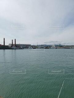 漁港の中の写真・画像素材[4853973]