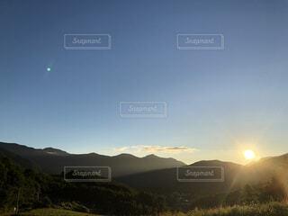 山のキャンプ場、早朝②の写真・画像素材[4764891]