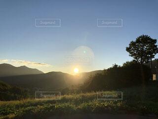 山のキャンプ場、早朝④の写真・画像素材[4764893]