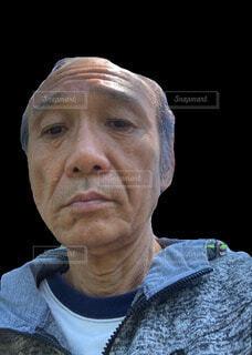 本人の顔の写真・画像素材[4761575]