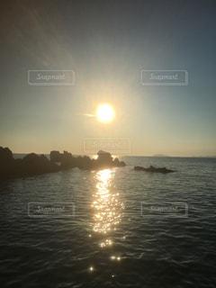 水の大きな体の写真・画像素材[761705]