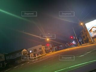 夜の散歩の写真・画像素材[4842609]