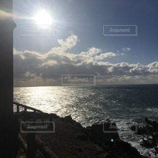 太陽と影の写真・画像素材[4758500]