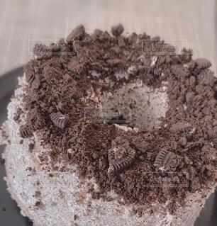 オレオケーキの写真・画像素材[4758871]