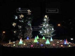 クリスマス イルミネーションの写真・画像素材[4766557]