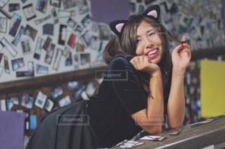 猫耳の女性 - No.737018
