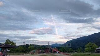 空の雲の写真・画像素材[4763787]