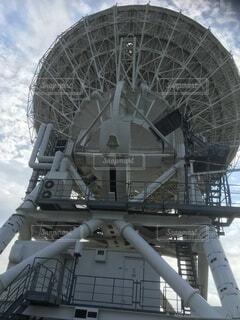 大きなアンテナの写真・画像素材[4771498]