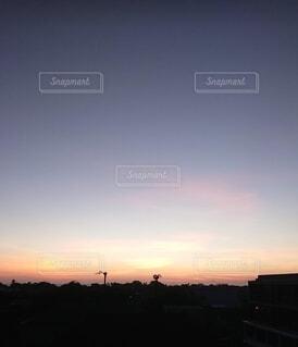 バリの夕暮れの写真・画像素材[4762119]