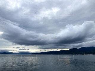 変わった雲の写真・画像素材[4762522]