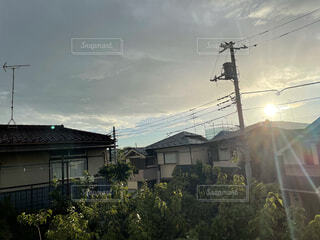 お天気雨の写真・画像素材[4768089]