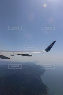 松山離陸の写真・画像素材[4816249]