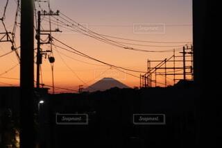 日の入りの写真・画像素材[4835032]