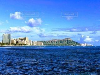 ハワイの定番ダイヤモンドヘッドの写真・画像素材[4763422]