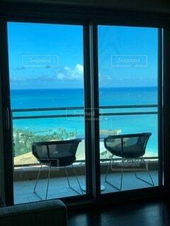 ハワイで泊まったコンドミニアムからの眺めの写真・画像素材[4763518]