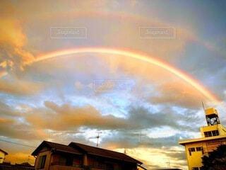 虹の上に虹の写真・画像素材[4805229]