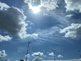 晴れた日の雲の写真・画像素材[4789069]