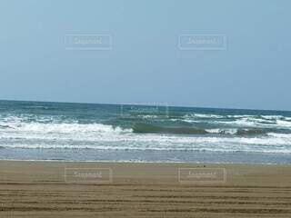 千里浜なぎさドライブウェイの写真・画像素材[4771129]
