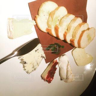 チーズの盛り合わせの写真・画像素材[4765458]