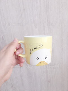 アヒルのマグカップの写真・画像素材[4768705]