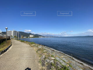 琵琶湖の写真・画像素材[4766992]