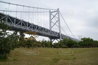 瀬戸大橋と公園の写真・画像素材[4774470]