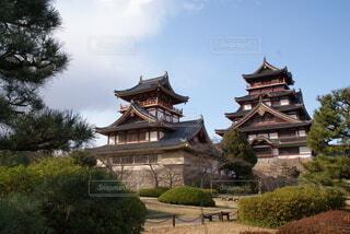 伏見桃山城を訪ねての写真・画像素材[4782826]