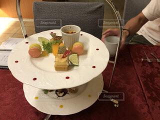コース料理 デザートの写真・画像素材[4770799]