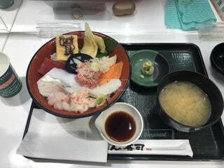 箱根海鮮丼の写真・画像素材[4770853]