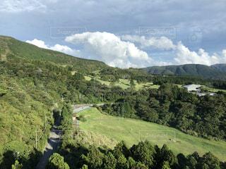 箱根ロープウェイから見た駒ヶ岳の写真・画像素材[4770856]