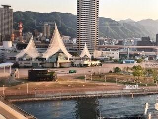 BE KOBEでの朝の写真・画像素材[4768729]