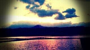 夕方の空の写真・画像素材[4768407]