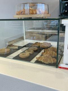 カフェのパンの写真・画像素材[4770761]