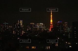 夜の年の眺め 東京の写真・画像素材[4770955]