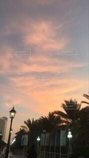 アブダビ の日没の写真・画像素材[4770958]