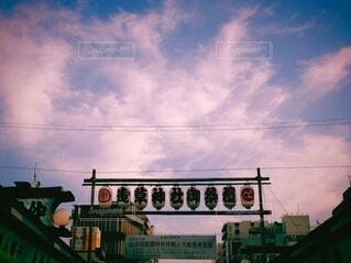 浅草の看板の写真・画像素材[4771050]
