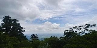 空と雲の写真・画像素材[4768524]