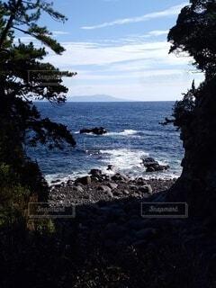 海と島の写真・画像素材[4768545]