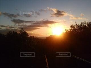 夕暮れの写真・画像素材[4768552]