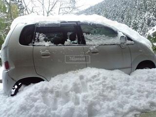 大雪の日の写真・画像素材[4768613]