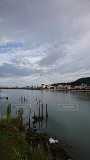 有田川の虹の写真・画像素材[4768654]