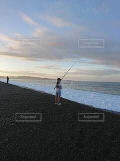 海釣りの写真・画像素材[4919663]