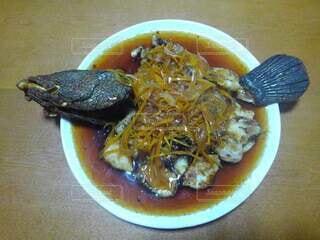 雷魚料理の写真・画像素材[4919687]